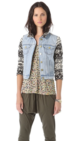 Maison Scotch Authentic Trucker Jacket