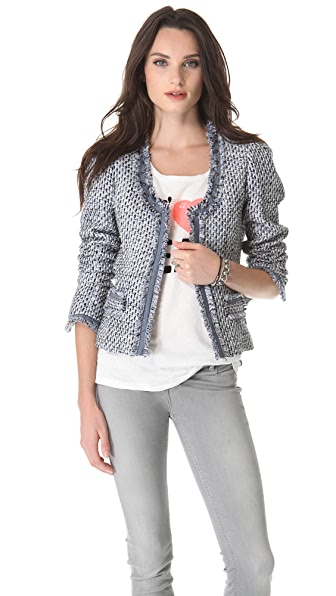 Maison Scotch Tweed Blazer