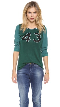 Maison Scotch Baseball Tee