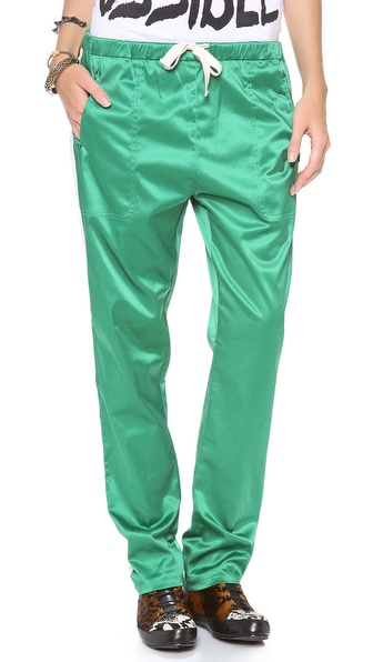 Maison Scotch Silky Baseball Pants