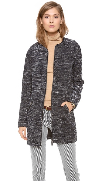 Maison Scotch Sparkle Long Jacket