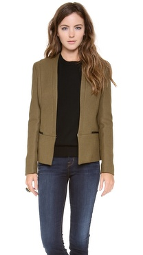 Maison Scotch Clean Tailored Blazer
