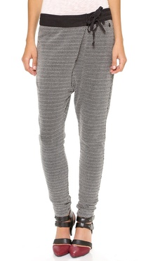Maison Scotch Fold Over Long John Pants