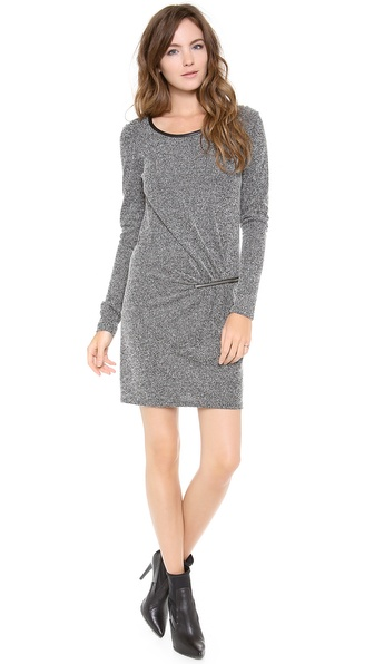 Maison Scotch 3/4 Sleeve Dress with Zip