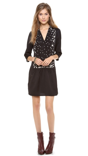 Maison Scotch 3/4 Sleeve Dress