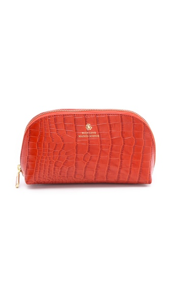 Maison Scotch Makeup Bag