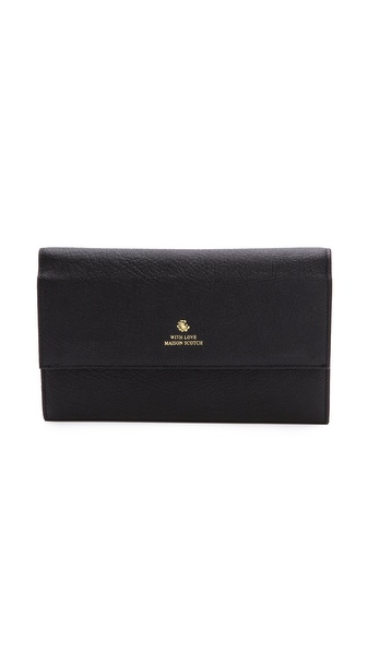 Maison Scotch Travel Wallet