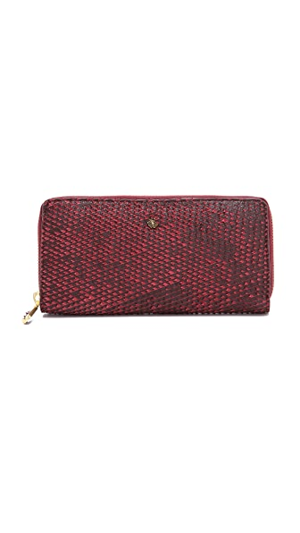 Maison Scotch Zip Wallet