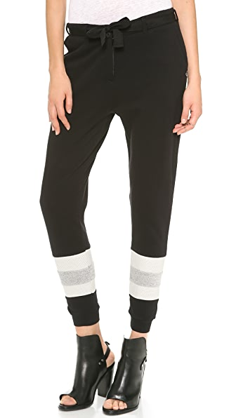 Maison Scotch Baseball Jogger Pants