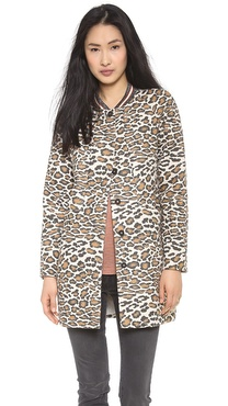 Maison Scotch Cocoon Summer Coat