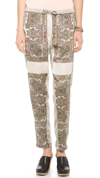 Maison Scotch Silky Printed Pants