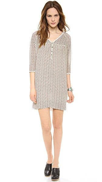 Maison Scotch Cadillac Inspired Drapey Dress