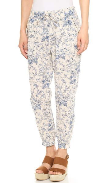 Maison Scotch Toile de Jouy Pants