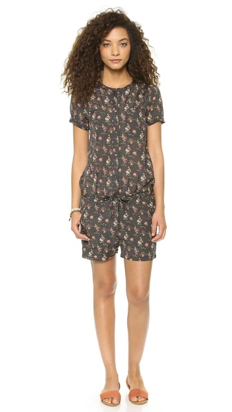 Maison Scotch Cruise Theme Printed Romper