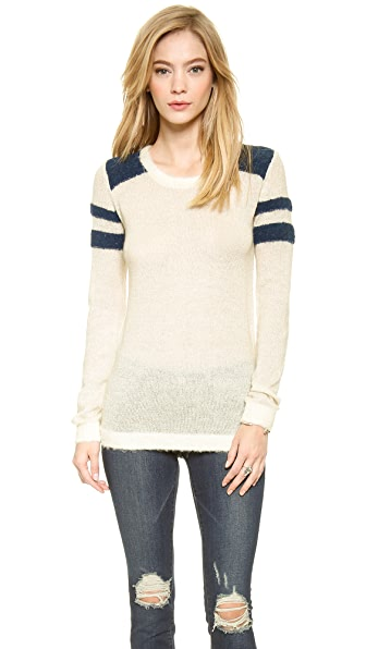 Maison Scotch Baseball Sweater