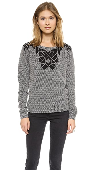 Maison Scotch Long Sleeve Sweater