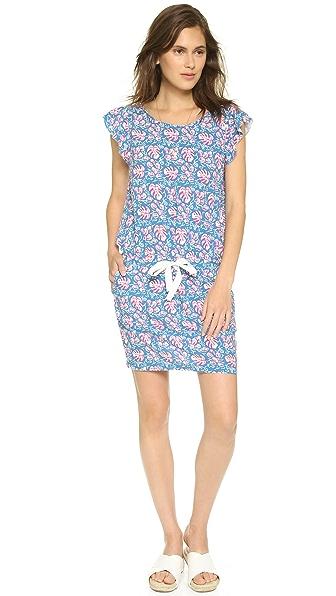 Kupi Maison Scotch haljinu online i raspordaja za kupiti Maison Scotch Tropic Summer Mini Dress Blue Multi online