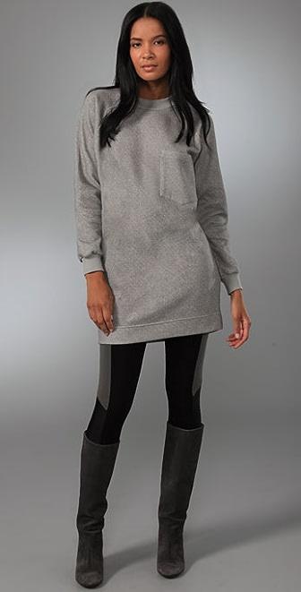 MM6 Maison Martin Margiela Sweatshirt Dress