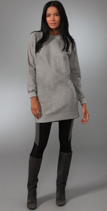 MM6 Maison Martin Margiela Sweatshirt Dress