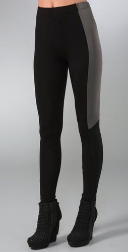 MM6 Maison Martin Margiela Combo Leggings