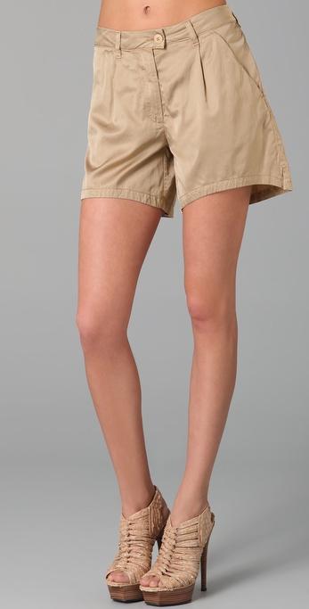 MM6 Maison Martin Margiela Tab Front Shorts