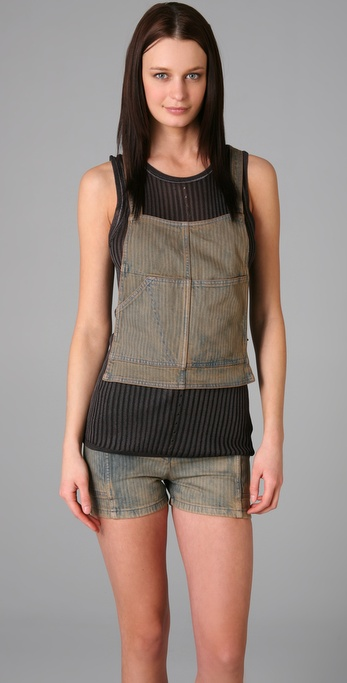 MM6 Maison Martin Margiela Cross Back Top
