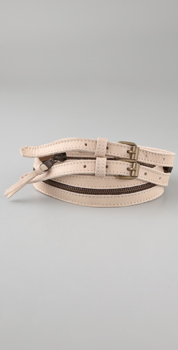 MM6 Maison Martin Margiela Zipper Belt