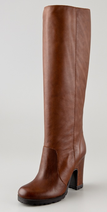 MM6 Maison Martin Margiela Pull On Boots