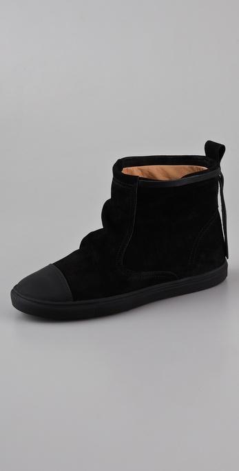 MM6 Maison Martin Margiela Drawstring Sneaker Booties