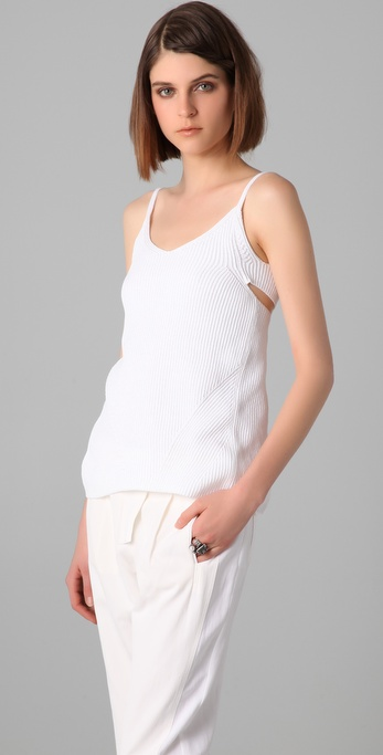 MM6 Maison Martin Margiela Knit Tank with Twist Back