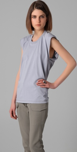 MM6 Maison Martin Margiela Sleeveless Crew Neck Tee