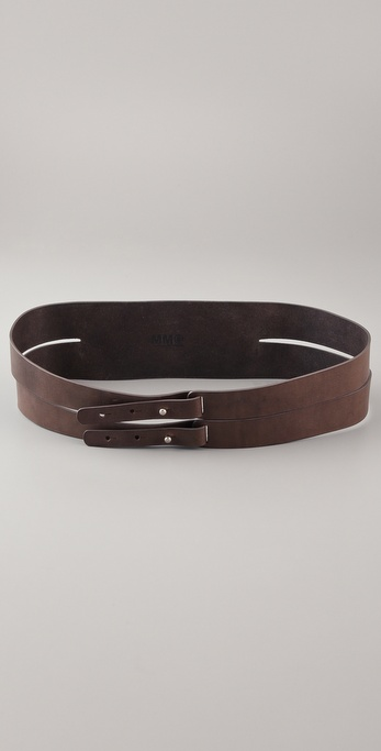 MM6 Maison Martin Margiela Double Wrap Belt