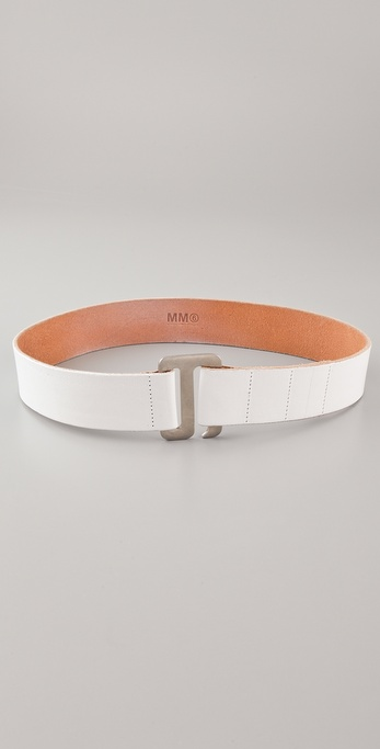MM6 Maison Martin Margiela Vintage Leather Belt