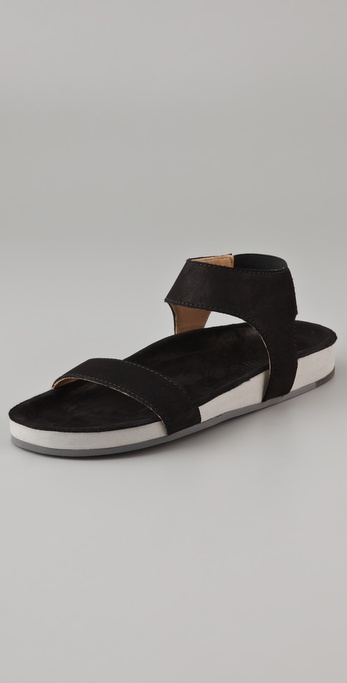 MM6 Maison Martin Margiela Molded Footbed Flat Sandals