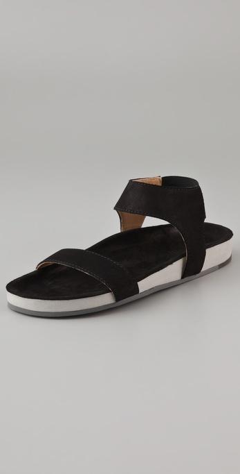 MM6 Maison Martin Margiela Molded Footbed Flat Sandals