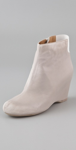 MM6 Maison Martin Margiela Wedge Ankle Booties