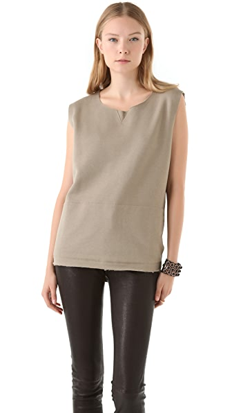 MM6 Maison Martin Margiela Sleeveless Sweatshirt