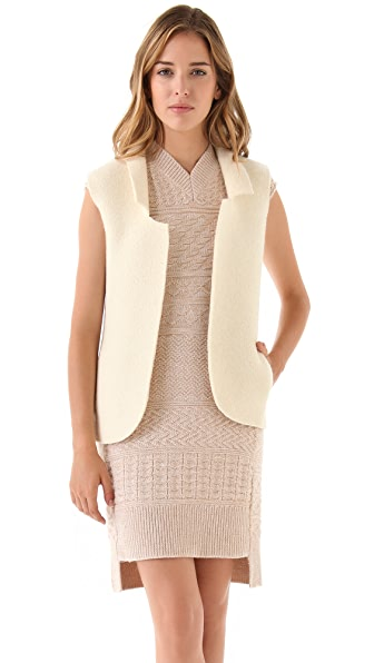MM6 Maison Martin Margiela Wool Vest