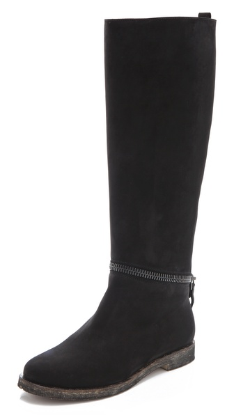 MM6 Maison Martin Margiela Unzippable Shaft Boots