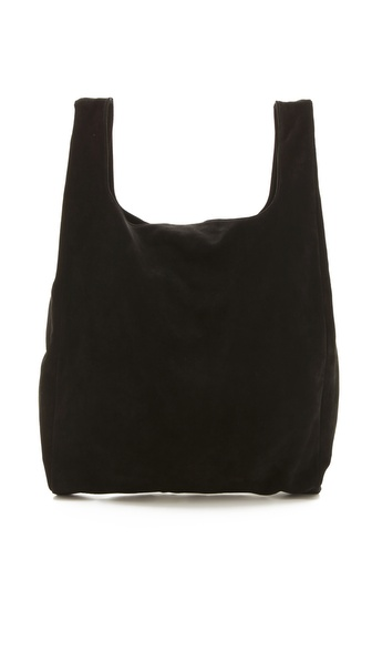 MM6 Maison Martin Margiela Suede Shopper