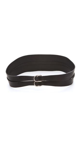 MM6 Maison Martin Margiela Double Belt