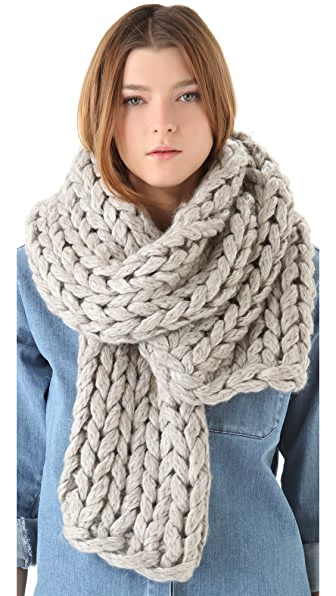 MM6 Chunky Knit Scarf