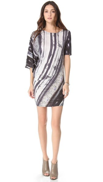 MM6 Maison Martin Margiela Printed Twist Dress