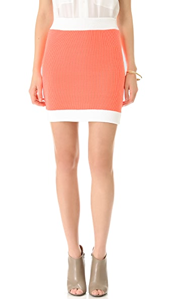 MM6 Maison Martin Margiela Knit Mini Skirt