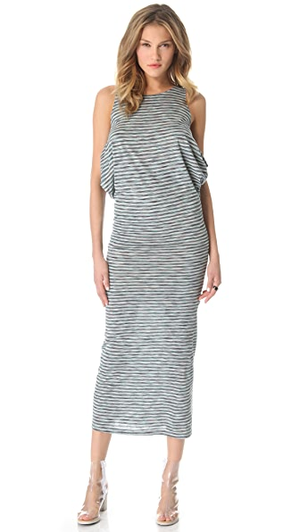 MM6 Maison Martin Margiela Striped Tank Dress