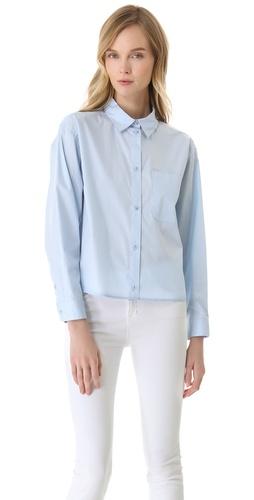 MM6 Maison Martin Margiela Cotton Button Down Shirt