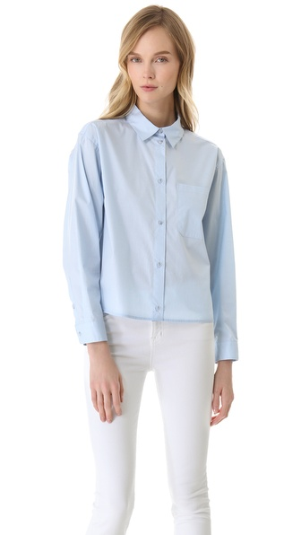 MM6 Maison Martin Margiela Cotton Button Down Shirt