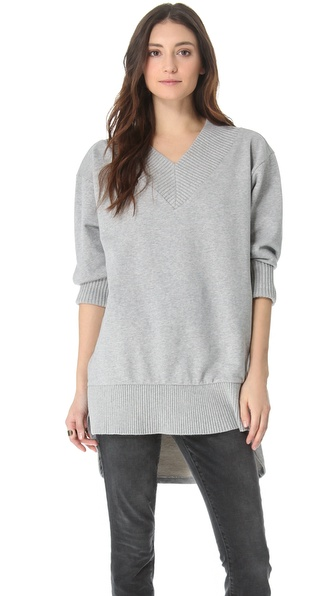 MM6 Maison Martin Margiela Oversized Sweatshirt