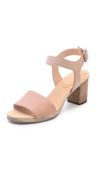 MM6 Maison Martin Margiela Contrast Band Sandals