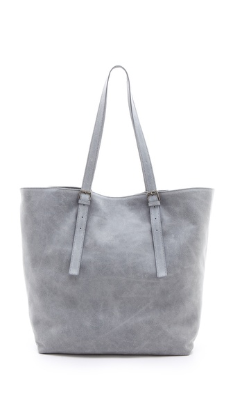 MM6 Maison Martin Margiela Large Suede Tote